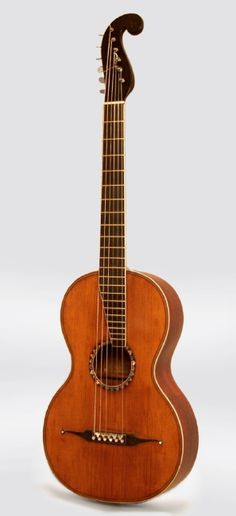 "1830's C.F. Martin & Schatz ""Stauffer Style"" Romantic guitar"