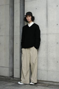 Normcore Fashion, Streetwear Fashion, Look Fashion, Fashion Design, Japan Men Fashion, Trendy Outfits, Fashion Outfits, Japanese Street Fashion, Minimal Fashion