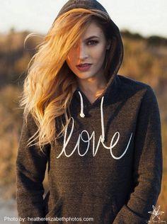 Love Hoodie Sweatshirt – Little Atoms Clothing