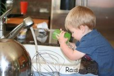 10 Ways Your Little Ones Can Help in the Kitchen.