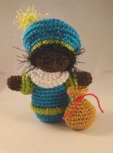 Gratis patroontje ! - Echtstudio Blog Crochet Winter, Holiday Crochet, Crochet For Kids, Crochet Patterns Amigurumi, Amigurumi Doll, Crochet Dolls, Crochet Gratis, Diy Crochet, Crochet Jar Covers