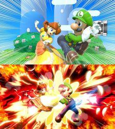 The student has become the master 💯 Nintendo Game, Nintendo Super Smash Bros, Nintendo Characters, Super Mario Bros, Video Game Memes, Video Games Funny, Video Game Art, Funny Games, Mario Bros.