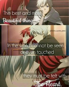 Anime quotes Quote Snow White with red hair Sad Anime Quotes, Manga Quotes, Anime Quotes About Love, Koi, Sanji One Piece, Snow White With The Red Hair, Jokes Quotes, Bts Qoutes, Anime People