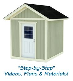 How to build a shed 15 part video series.  Very thorough, techniques can be adapted for any basic shed construction.