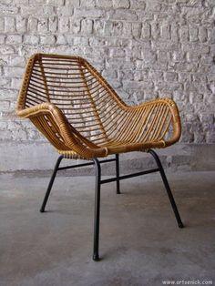 h bsch interior stuhl aus rattan im naturlook design komfort aus d nemark living. Black Bedroom Furniture Sets. Home Design Ideas