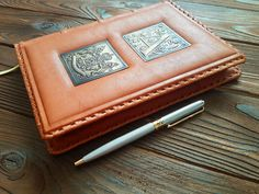 Leather Travel Notebook Blank Pages Adventure Journal Travel Log  Cover Journal #MakeyStudio