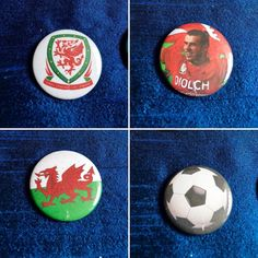 I did a blog post about my new badge extravaganza.  http://ift.tt/29FEf2s  #badges #badge #etsy #etsyshop #etsyseller #football #wales #welsh