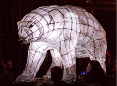 The amazing City of Lights parade will bring the city of Truro to life on the 20th of November, with the colossal withy and paper creations winding their way through the streets. These impressive illuminations will be designed around the new and intriguing theme for 2013; 'Expect the Unexpected'.