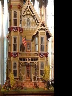 Dura Craft San Franciscan Dollhouse  in Dolls & Bears, Dollhouse Miniatures, Doll Houses | eBay
