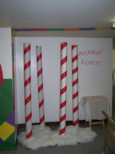 Peppermint Forest Poles