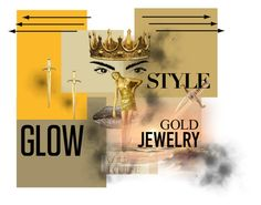 black/gold for Black & Gold Fashions by blackandgoldfashions on Polyvore featuring A.V. Max, Seletti, INDIE HAIR and modern