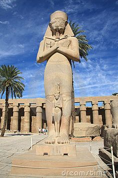 Colossi of Ramses II by Eg004713, via Dreamstime