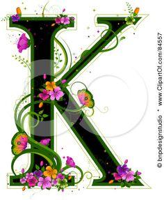 Clip Art Letter K - Bing Images