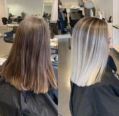 Blunt Hair, Hair Beauty, Long Hair Styles, Makeup, Hair, Hairstyles, Bielefeld, Dark Hair Blonde Highlights, Quiff Hairstyles