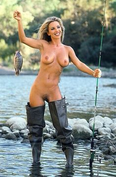 girls naked fishing Fly