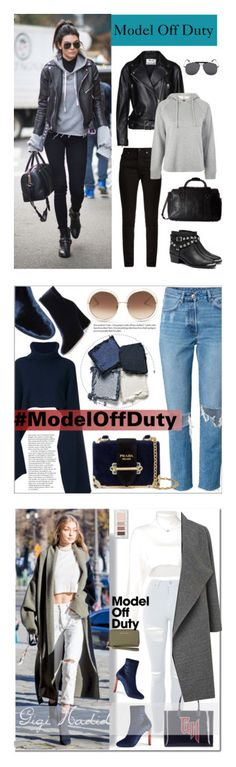 """Winners for It-Girl: Model Off Duty"" by polyvore ❤ liked on Polyvore featuring Yves Saint Laurent, Victoria's Secret, Acne Studios, Topshop, Senso, Scully, Tom Ford, Chloé, EUDON CHOI and Gianvito Rossi"
