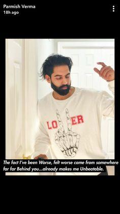 Parmish Verma Beard, Famous Singers, Men Fashion, Desi, Bollywood, Champion, Success, Mens Tops, Photography