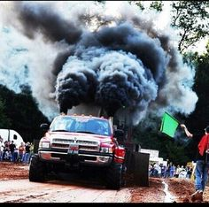 Roll the dookie! #rollin coal #blacksmoke #dodge cummins