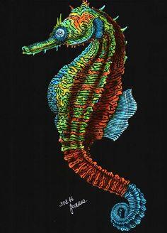 Seahorse By Samantha Miller
