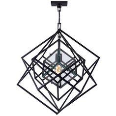 Visual Comfort Lighting Kelly Wearstler Cubist 22-Inch Pendant