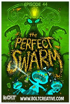 The latest update to Pocket god has arrived, Episode 44: The Perfect Swarm - don't miss it - a cult classic.