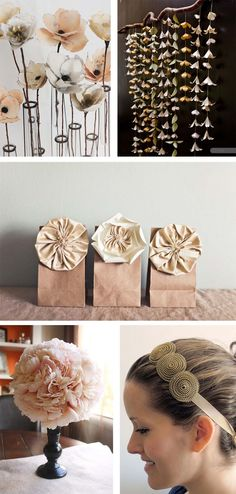 Ohoh Blog - diy and crafts: Flowers for Mother's Day