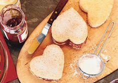 Raspberry-Lemon Heart Cakes - Bon Appétit