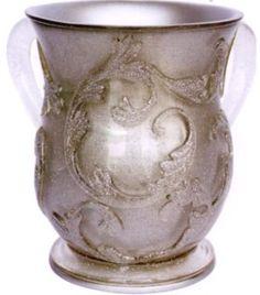 Acrylic Silver Sparkles Netilat Yadayim / Washing Cup