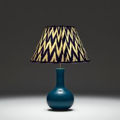 Like an oversized Chinese perfume bottle, in a stunning turquoise glaze. OMG http://www.pooky.com/table-lamps/nellie-100-tur#shade=LSEMP250IKAZIG
