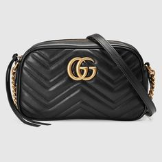 b84a5b289f3 GG Marmont matelassé shoulder bag