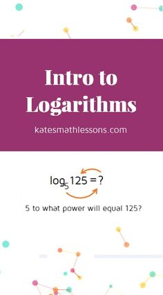 My students always seem to struggle with logarithms. I might use this next year to introduce logs.