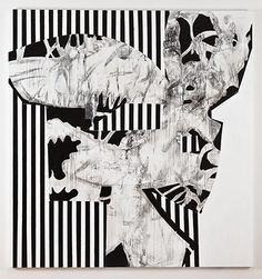 Charline von Heyl Hibiu Habibi, 2011, acrylic and charcoal on linen