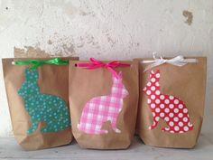 Geschenktüten - Ostertüten - ein Designerstück von polliueberall bei DaWanda