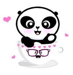 lil'panda in a tea cup, The worlds cutest panda www.ilipanda.com
