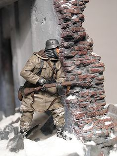 II Guerra Mundial - Atirador alemão (WWII - German sniper)