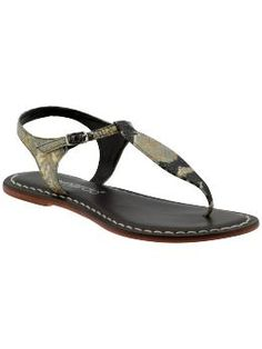 Bernardo thong's are some of our most popular footwear and perfect for the Year of the Snake