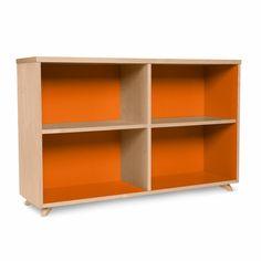 TrueModern Youth Low Bookcase: Inmod