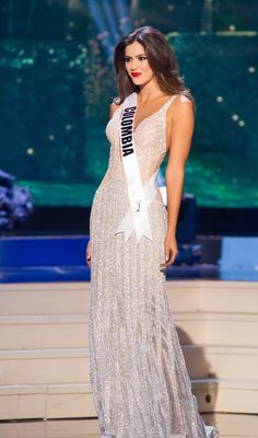 Miss Colombia 2014 Dress