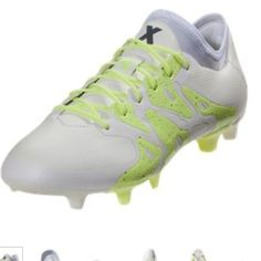 ffd71164697a adidas Shoes | Adidas X 15.1 Fg Messi Soccer Cleats Shoes Boots | Color:  White/Yellow | Size: Various