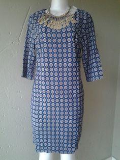 Shift dress. Casual wear