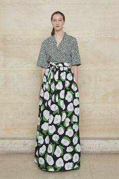 Spring/Summer 2019 - Marimekko in Paris Urban Fashion Trends, Summer Fashion Trends, Fashion News, Fashion Outfits, Fashion Spring, Fashion Clothes, Fashion Week Paris, Street Style Trends, Marimekko Dress