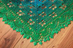 Ravelry: KinnicChick's Swallowtails Prayer Shawl