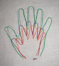 Family Hand Stitching