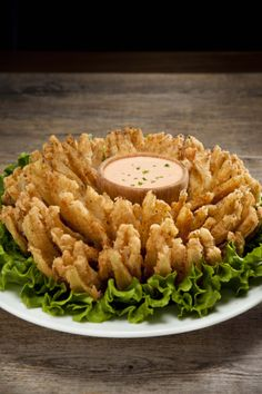 Our Celebrated Blooming Onion Blooming Onion, Risotto, Ethnic Recipes, Food, Essen, Meals, Yemek, Eten