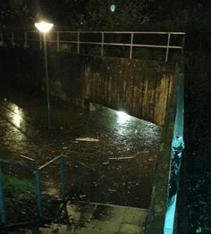 One of the subways near were I used to live in Skelmersdale. Needed a kayak to get through :)