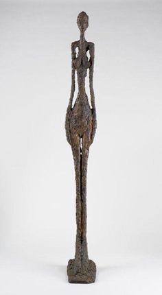 Alberto Giacometti Grande femme IV, 1960-61 Bronze, 270 x 31,5 x 56,5 cm Collection Fondation Giacometti, inv. 1994-0174 (AGD 319) © Succession Alberto Giacometti (Fondation Alberto et Annette Giacometti, Paris + ADAGP, Paris) 2013
