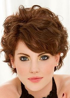 Short+Curly+Hairstyles+with+Bangs | Naturally Curly Hairstyles with Bangs