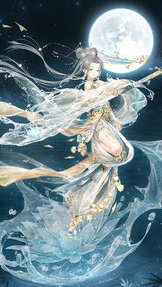 Anime Girl Crying, Anime Art Girl, Nikki Love, Anime Art Fantasy, Beautiful Goddess, Fantasy Character Design, Fairy Art, Anime Outfits, Fantasy Creatures