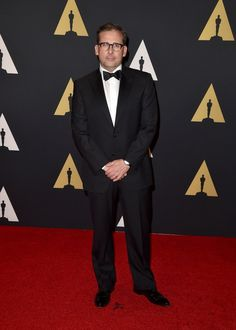 Pin for Later: Stars Get All Glammed Up For the Governors Awards  Pictured: Steve Carell