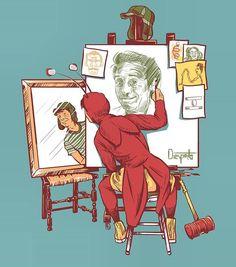 Um desenho que resume uma vida inteira! #GraciasChespirito #BomDia #BuenosDías #GoodMorning #Chespirito #Chespirotadas #RobertoBolaños #ElChavoDelOcho #Chaves #Art #Desenho #Dibujo #Draw #Drawing #FanArt #FanMade